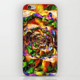 3d-Mix-5-5spiral iPhone Skin