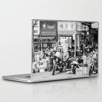 seoul Laptop & iPad Skins featuring Everyday Seoul by Jennifer Stinson