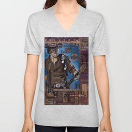 Stevie Ray Vaughan Unisex V-Neck