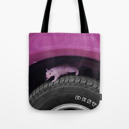 Up & down the wheel I go Tote Bag