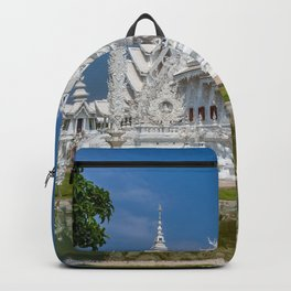 White Temple Thailand Backpack