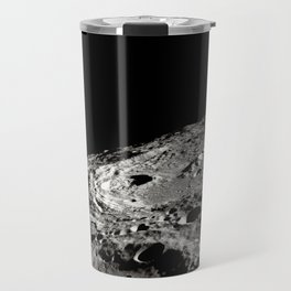 Terraced Wall Crater on the Lunar Limb Travel Mug