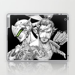 Genji & Hanzo Laptop & iPad Skin