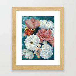 Summer Roses Framed Art Print