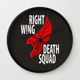 Right Wing Death Squad Wall Clock