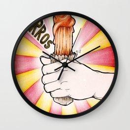CHURROS!!! Wall Clock