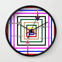 Rectangular all over Wall Clock
