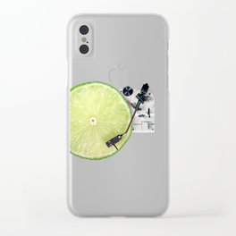 LIME DJ Clear iPhone Case