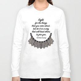 Ruth Bader Ginsburg Long Sleeve T-shirt