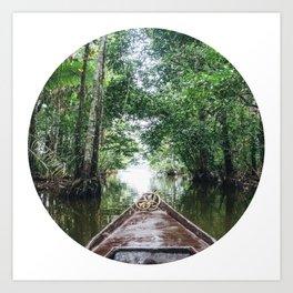 Into The Amazon Rainforest Fine Art Print Art Print