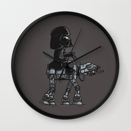 Dark Walker Wall Clock