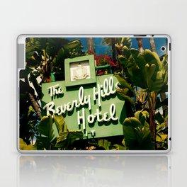 Classy Beverly Hills Hotel Mid Century Modern Neon Sign Laptop & iPad Skin