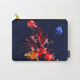 Grunge Cat Carry-All Pouch