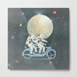 space tandem Metal Print