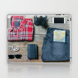Get ready for the trip. Man edition Laptop & iPad Skin
