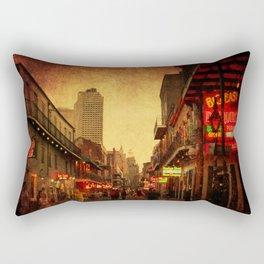 Bourbon Street Grunge Rectangular Pillow