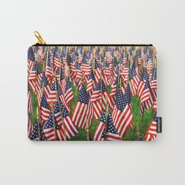 Field Of Flags Carry-All Pouch
