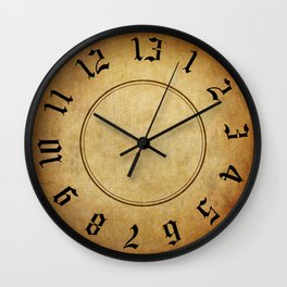 Labyrinth 13 Hour Clock Wall Clock