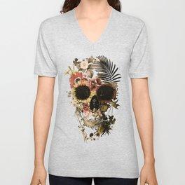 Garden Skull Light Unisex V-Neck