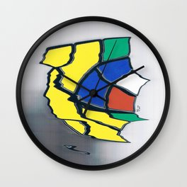 rubik I Wall Clock