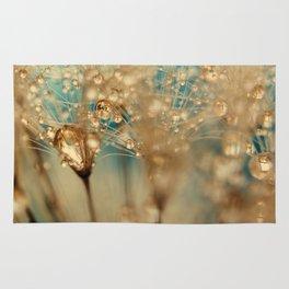 dandelion gold Rug