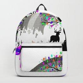 Colorless Raimbow Backpack
