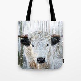 WhitePark Cow Tote Bag