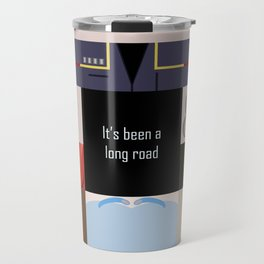 It's been a long road - square - Star Trek: Enterprise ENT - startrek Trektangle minimalist  Travel Mug