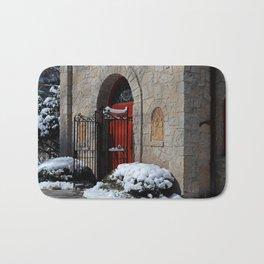 Portiuncula Chapel Doors Bath Mat