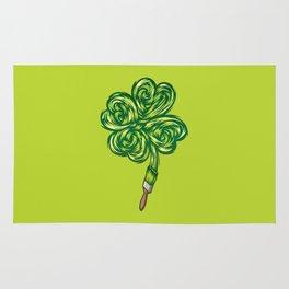 Clover - Make own luck Rug