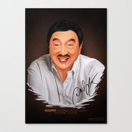 Dolphy Canvas Print