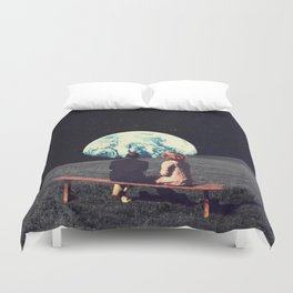 We Used To Live There Duvet Cover