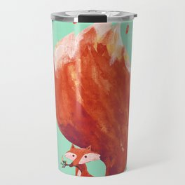 Kitsune (Fox of fire) Travel Mug