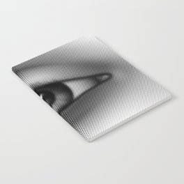Halftone Eye Notebook