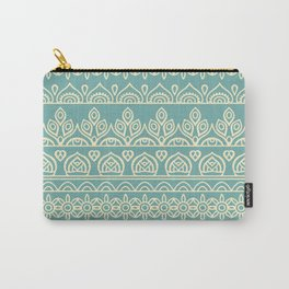 Stripes Mandala 8 Carry-All Pouch