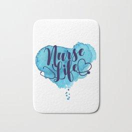 Nurse Life Bath Mat