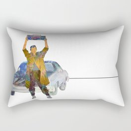 Say Anything - Lloyd Dobler (John Cusack) Rectangular Pillow