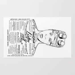 Dan Aykroyd Tattooe'd Ghostbuster Ray Stantz Rug