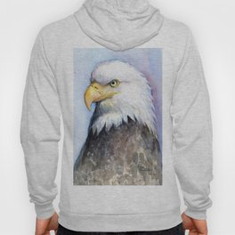 Bald Eagle Watercolor Bird Wildlife Animals Hoody
