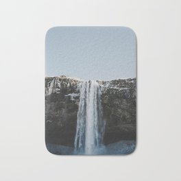 Waterfall / Seljalandsfoss, Iceland Bath Mat