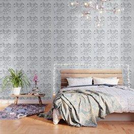 DaVinci Dog Lines Wallpaper