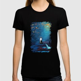 Tardis Lost In The Forest T-shirt