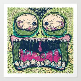 Monsta Art Print