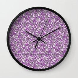 Thistle Design Wall Clock