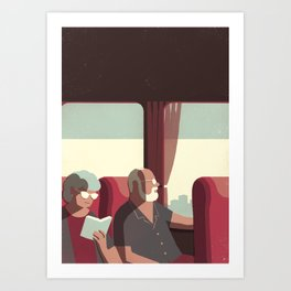 Day Trippers #1 - Arrival Art Print