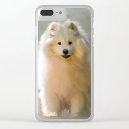 More Snow Please Clear iPhone Case