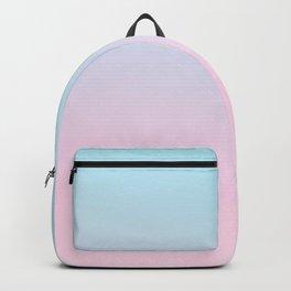 VAPORWAVE - Minimal Plain Soft Mood Color Blend Prints Backpack
