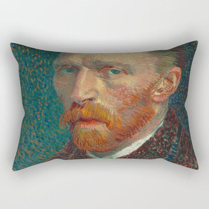 Self-Portrait Rectangular Pillow