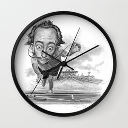 """Salvador Shuffle"" Wall Clock"