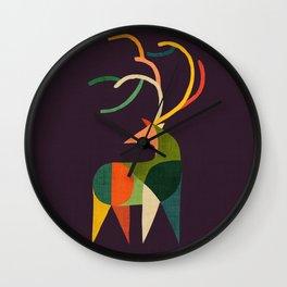 Antler Wall Clock